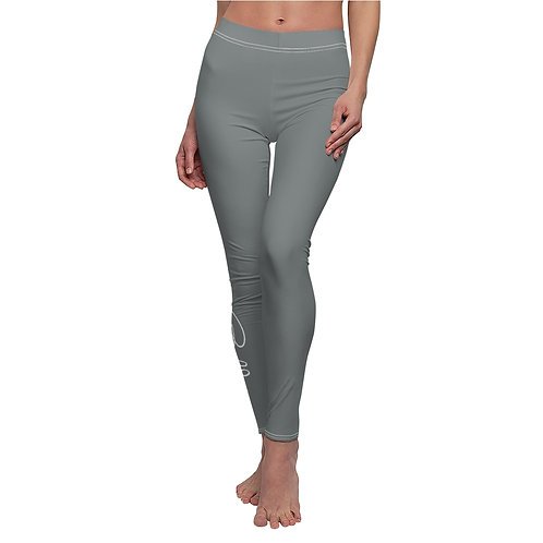 Bella Script Leggings (dark gray)