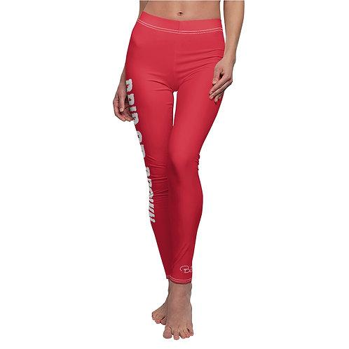 Drip or Drown Leggings (red)
