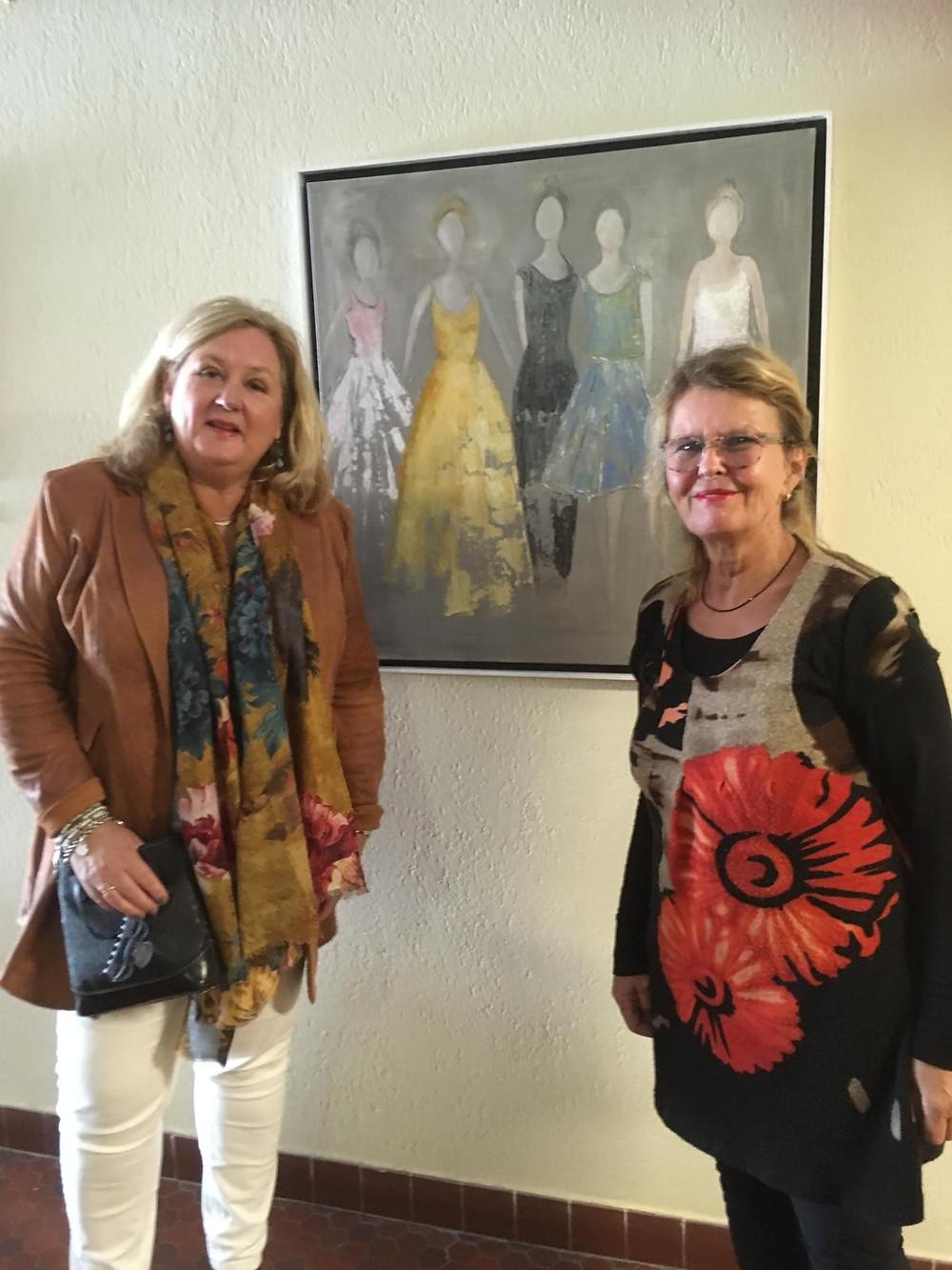 Wel heel erg trots om te mogen exposeren tijdens de kunst tiendaagse in Bergen aan Zee.....