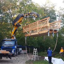 Brückenbau Gemeinde Münsing