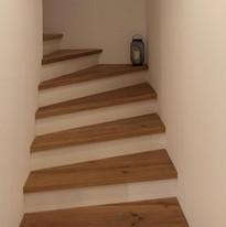 Neubau Treppe Einfamilienhaus