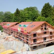 Neubau Dachstuhl Leutstetten