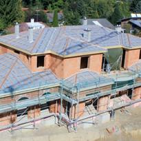 Neubau Dachstuhl Villa Grünwald