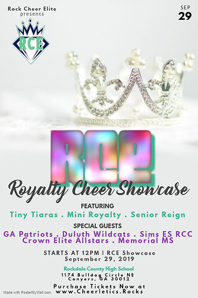 RCE Royalty Showcase - Made with PosterM