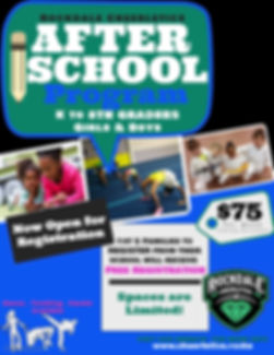 Save the Date After School Program Flyer