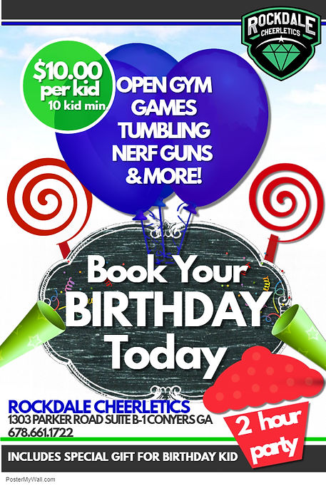 Birthday Flyer - Made with PosterMyWall.