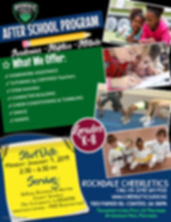 Afterschool Flyer - Made with PosterMyWa