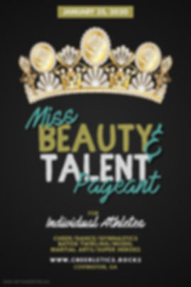 Copy of Beauty pageant flyer template -