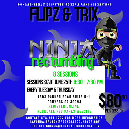 Copy of School Rec Park Ninja Tumbling -