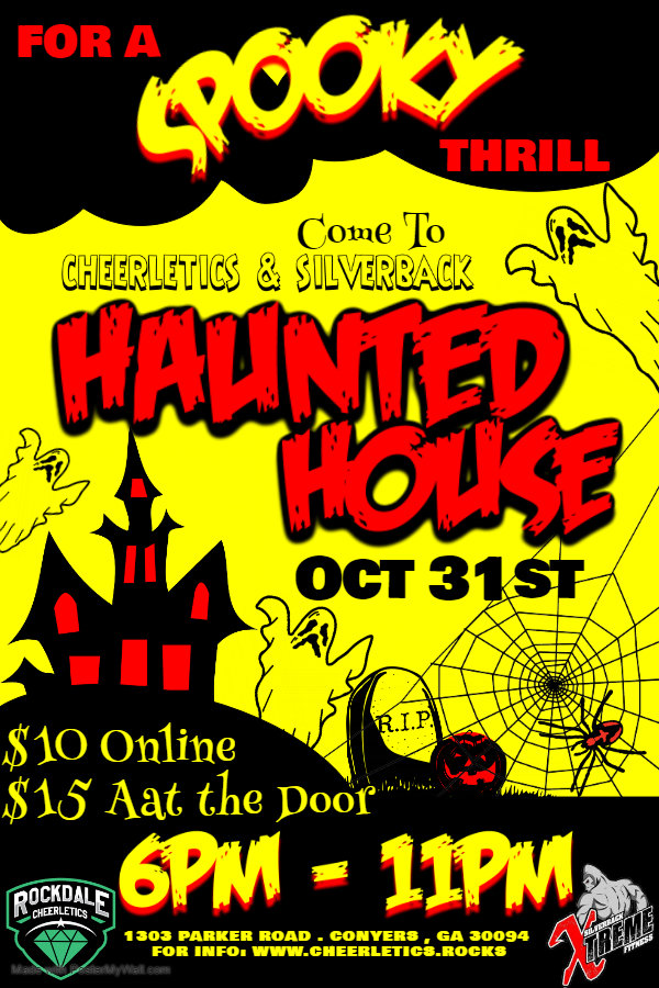 Copy of Haunted House - Made with Poster