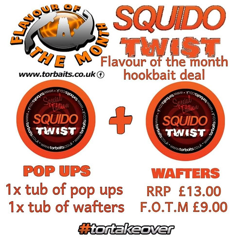 Squido Twist pop ups and wafters