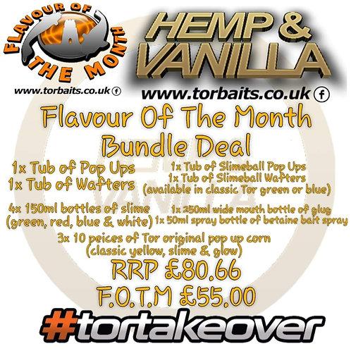 Hemp vanilla & Black pepper oil mega bundle