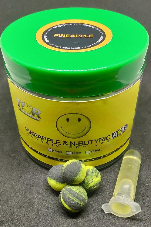 Pineapple & N-butyric acid 12 & 14mm mixed pop ups