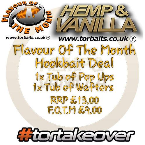 hemp vanilla & black pepper oil  pop ups and wafters