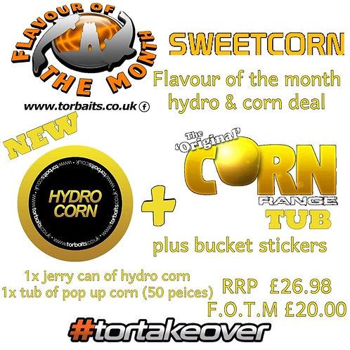 Hydro corn + a corn pop up tub t