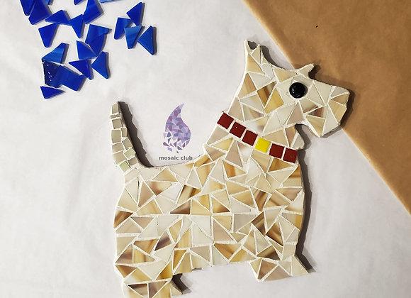 Mosaic Kit - Little Dog