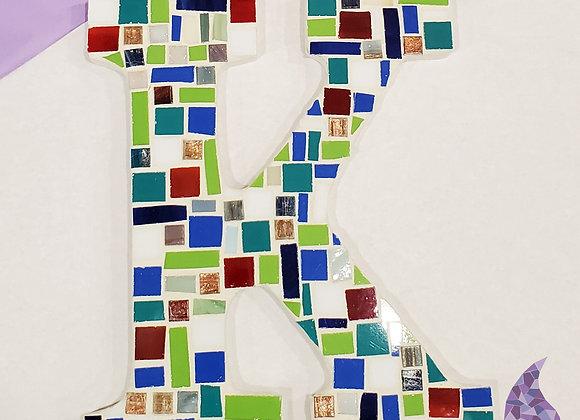Mosaic Kit - Single Letter Monogram