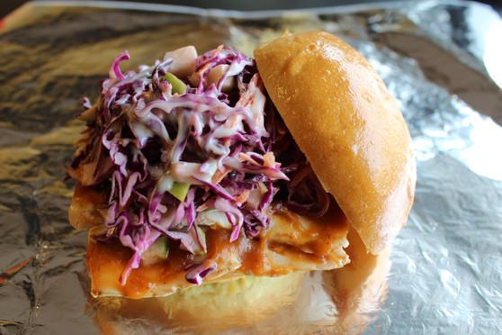 The Haht Mess Sandwich - It's a mess...get a plate.