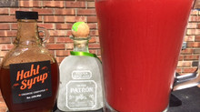 Agua de Sandia (Watermelon Water) & Haht Syrup