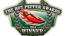 The Hot Pepper Awards Winner!!!!!