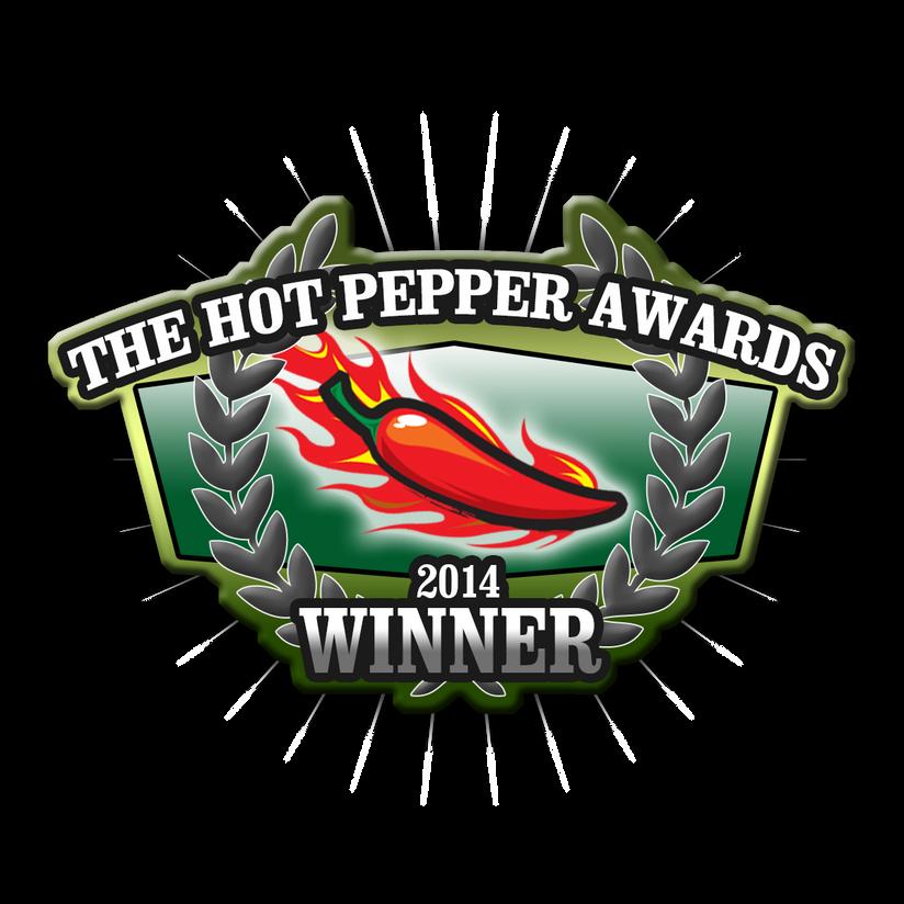 The Hot Pepper Awards Winner!!!!!