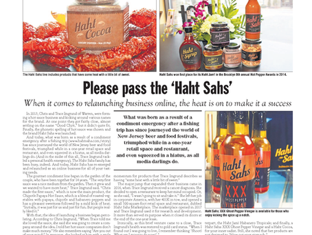 Haht Off The Press: Star Ledger Feature