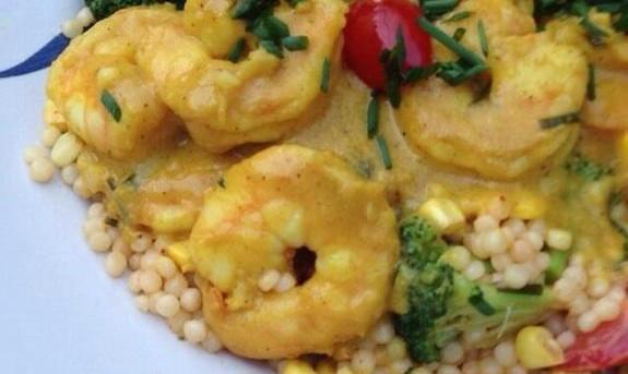 Haht Curry Shrimp