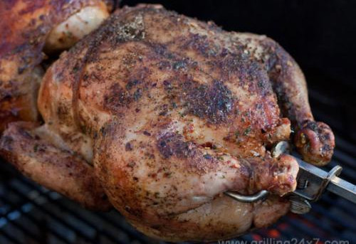 Lunch today by Grilling 24/7 - Spicy Chicken