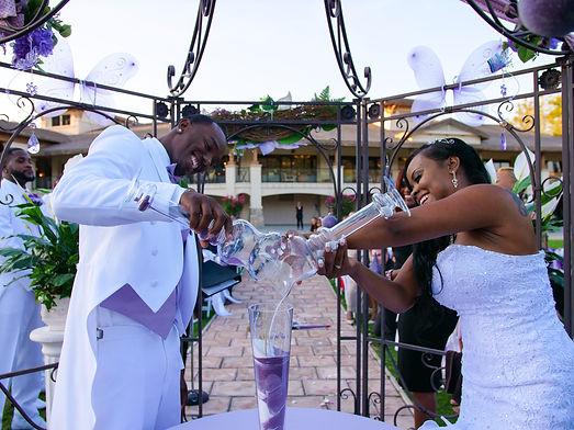 Bride and Goom at Wedding