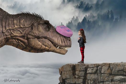 Valentine dinosaur by cliff Juliette fb.