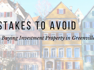 What To Avoid When Buying Investment Properties in Greenville, SC