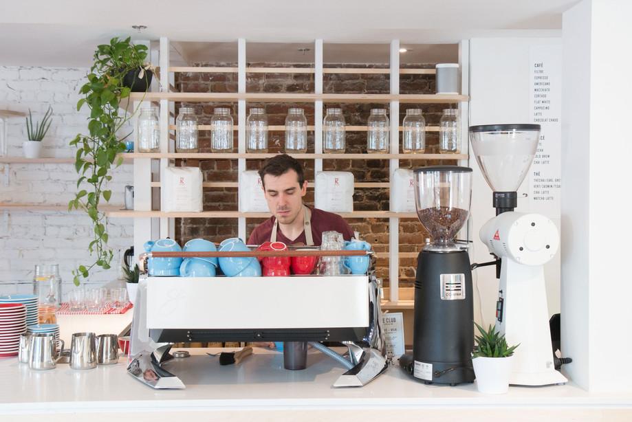 club espresso bar