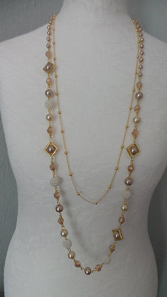 7. GOLD NECKLACE