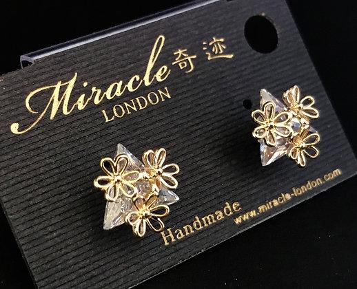 R4633A1Z/330 Gold Earrings