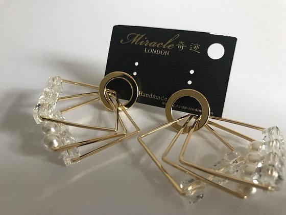 L08221G0Z/420 Gold Earrings