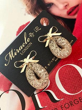 L08302G1Z/400 Gold Earrings