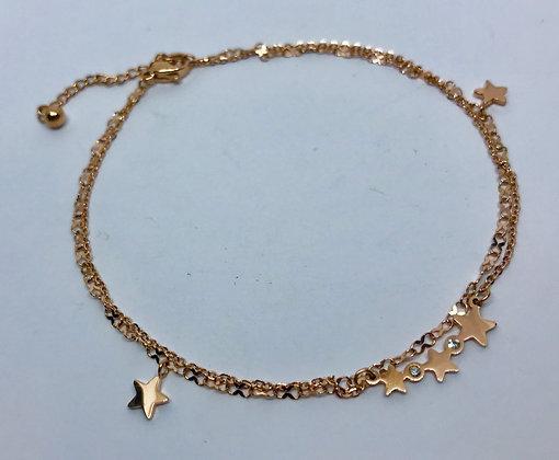GB1404/5    GOLD BRACELET