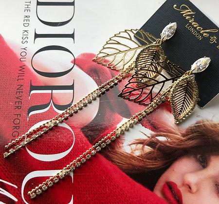 20727150201/575 Gold Earrings
