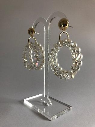 L08224/G0Z/490 Gold Earrings.