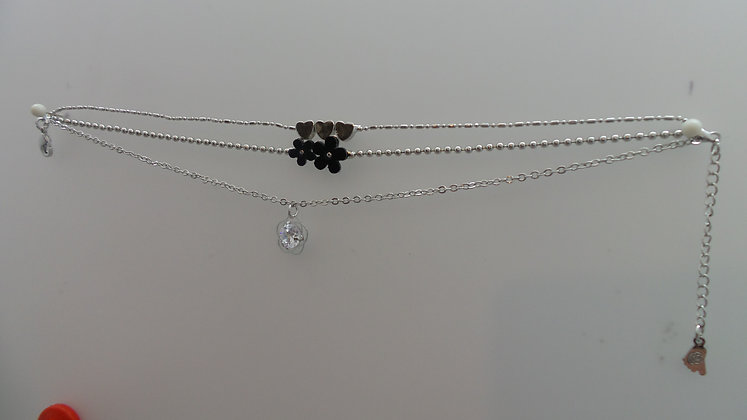 X0008/1/200.   SILVER ANKLET