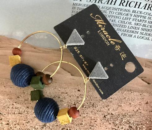 20732250220/395 Gold Earrings