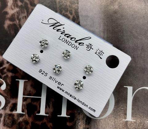 FAE0794AR001/330 Silver Stud Earrings