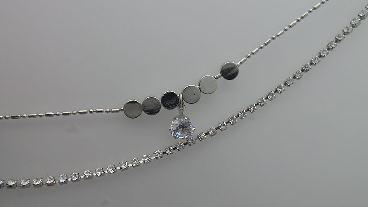 X0008/7/200.SILVER  ANKLET