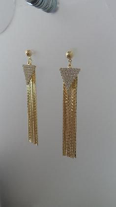 20721760201/00685.GOLD DANGLE EARRINGS