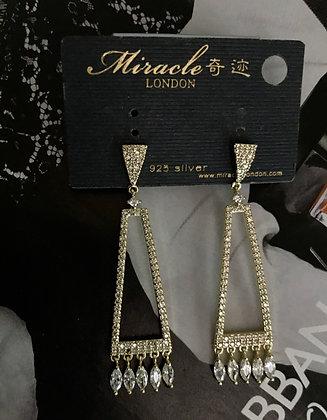 JQ00063B/670 Gold Earrings