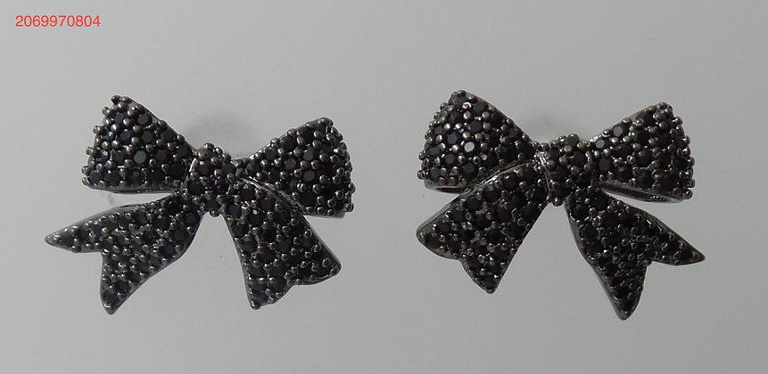 2069970804/00595(Black) Silver Stud Earrings