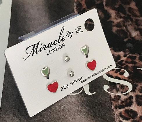 JE20203B/330 Silver Earrings