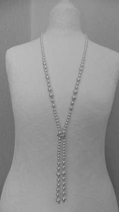 13.  WHITE-PEARL NECKLACE