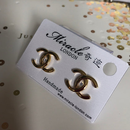 CC  Style Gold with Silver-Pins