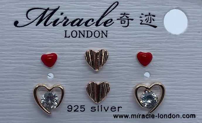 FAE1763EE001/385 Rose Gold Stud Earrings